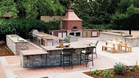 ultimate outdoor kitchen sunset magazine sunset