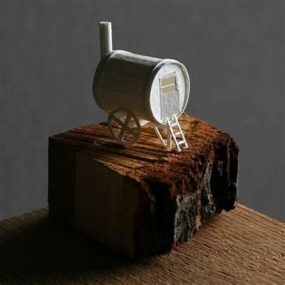 Charles Young Paper Paperholm Metropolis Miniature Moving
