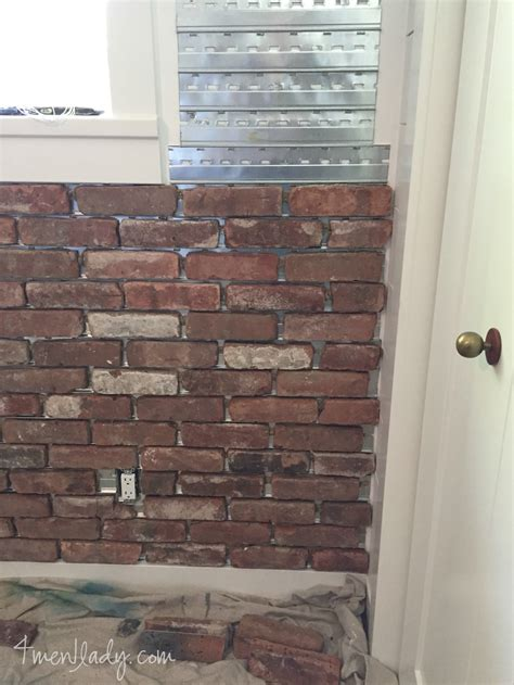 interior brick wall laying an interior brick wall