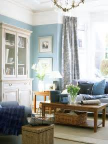 In Livingroom Blue In The Living Room Adorable Home