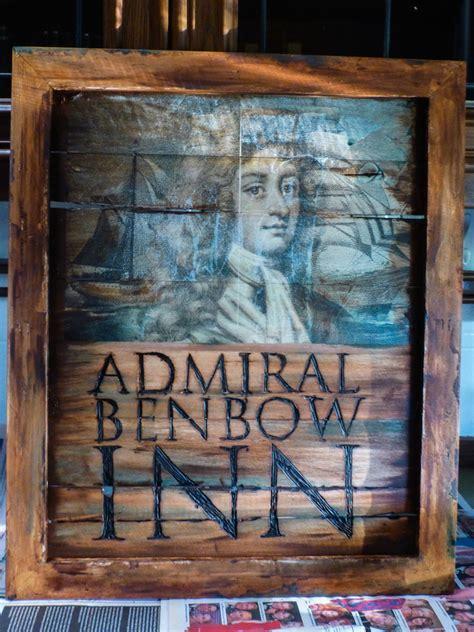 treasure island admiral benbow inn signage