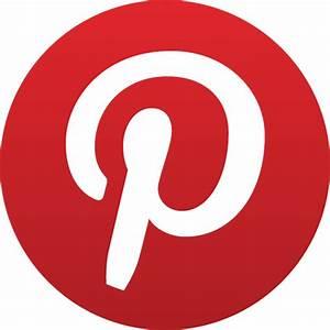 Pinterest Icon | Basic Round Social Iconset | S-Icons