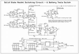 Battery Tesla Switch Power Mosfet Circuit Uses No Schottky Diodes Solid State Switching Part B