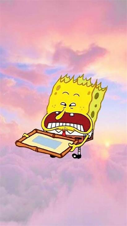 Spongebob Aesthetic Wallpapers Memes Meme Backgrounds Iphone