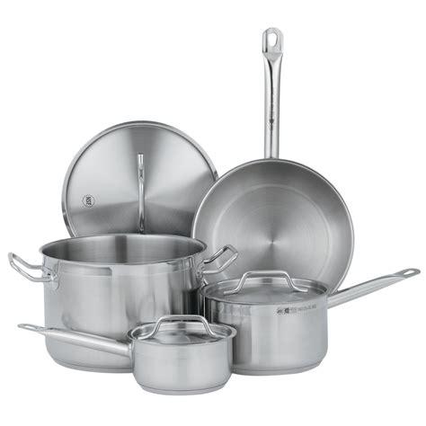 vollrath  deluxe  piece optio cookware set