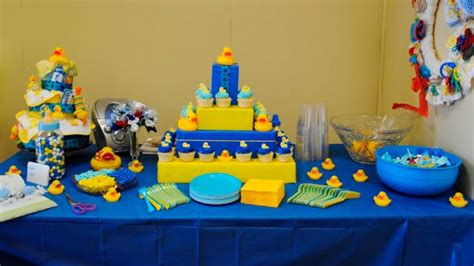plan rubber ducky baby shower ideas