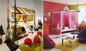 Cabane Chambre Enfant : decoration lit cabane ~ Teatrodelosmanantiales.com Idées de Décoration
