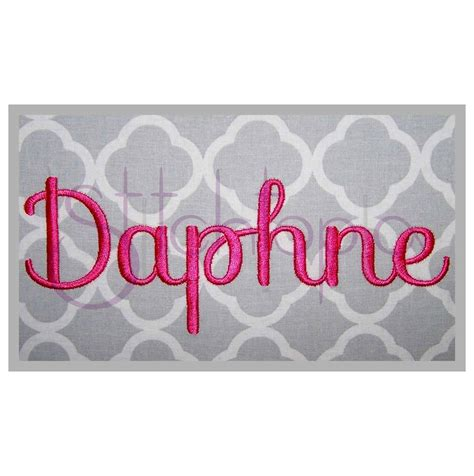 daphne embroidery font set      stitchtopia