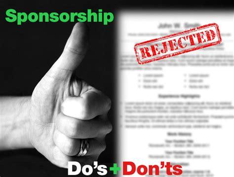 sponsorship dos  donts bmx talk