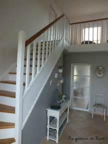 peindre dans un escalier
