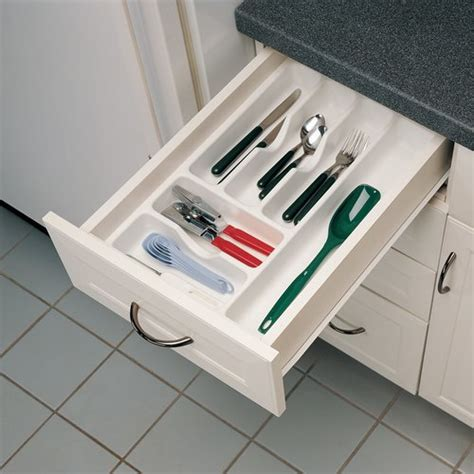 kitchen cabinet storage inserts rev a shelf cutlery tray 14 25 quot w x 21 25 quot d textured 5813