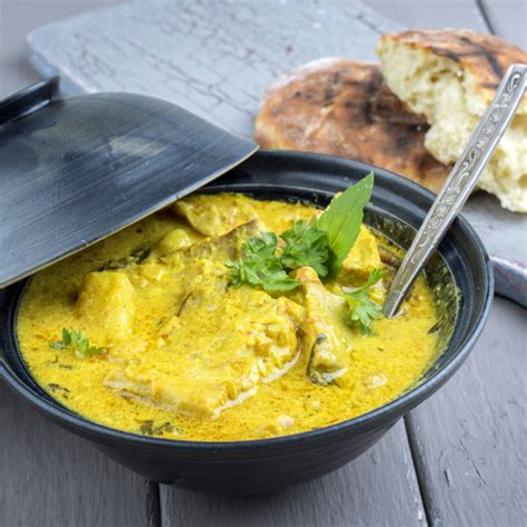 recette lotte au curry facile rapide