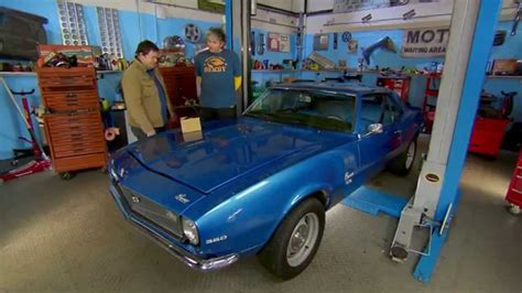 Wheeler Dealers California Workshop Location by The Camaro In The Workshop Wheeler Dealers