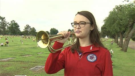 trumpet playing taps teen stereotype go mission abc wnt abcnews