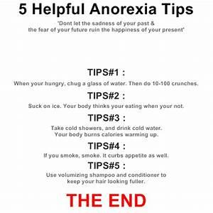 anorexia diet | alexia maron