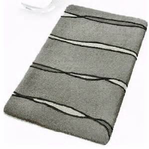 grey contemporary bathroom rugs flow large modern bath mats by vita futura