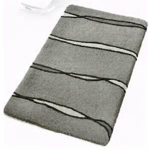 grey contemporary bathroom rugs flow large modern bath mats by vita futura