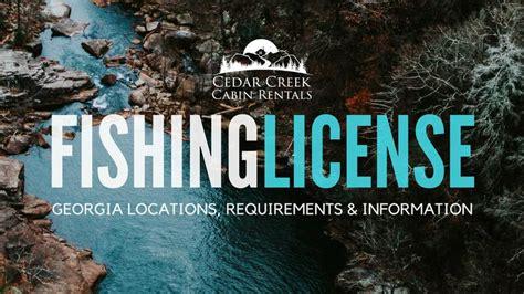 fishing license georgia helen locations requirements cedarcreekcabinrentals