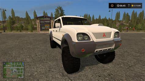 mitsubishi truck mitsubishi truck mod for farming simulator 2017 pick up