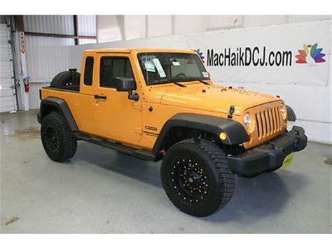 jk8 jeeps for sale find new jk8 dozer yellow 2 quot lift star burst 18 quot wheels