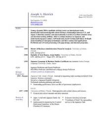Electronic Resume Posting by Electronic Resume Create Your E Resume For Email