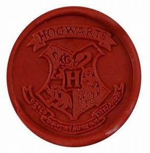 new cool vintage harry potter hogwarts school badge wax With hogwarts letter stamp