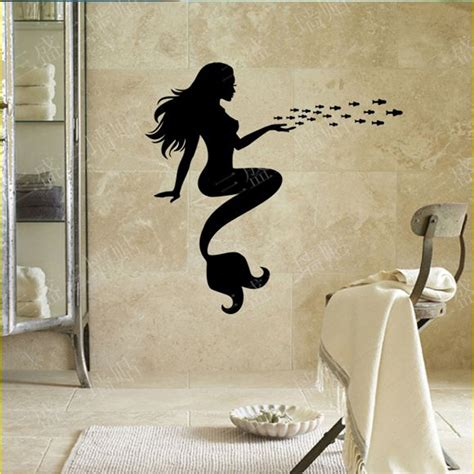 Mermaid Bath Decor by Get Cheap Mermaid Bathroom Decor Aliexpress