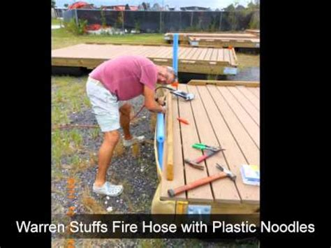 Boat Dock Bumpers Youtube by Chr Ifds Docks Firehose Fenders Attached Youtube