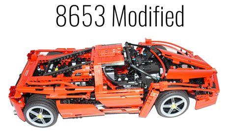 Lego Technic  8653 Ferrari Enzo  Modified Youtube