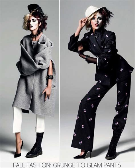 Fall Fashion Top 5 Trends Grunge To Glam Anja Rubik