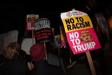 Trump London Hitler Poster