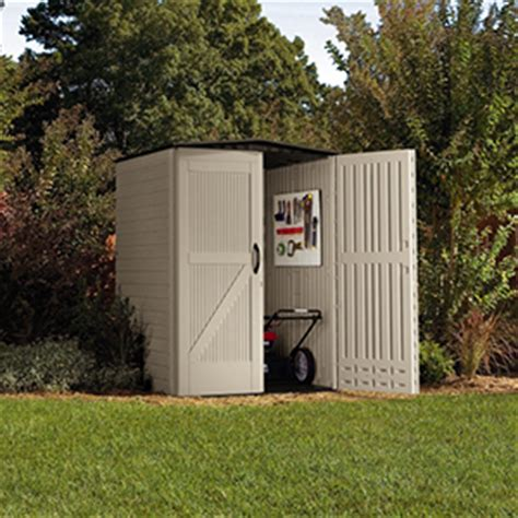 Rubbermaid Roughneck Storage Shed Accessories by Rubbermaid Roughneck Plastic Small Outdoor