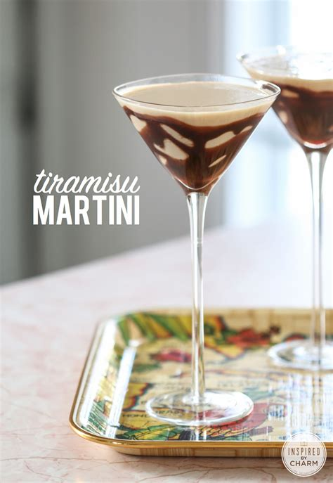 Made of ladyfingers (savoiardi biscuits) dipped in coffee syrup, rich mascarpone custard. Tiramisu Martini - delicious and decadent cocktail recipe