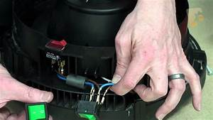 How To Replace The On  Off Switch - Henry Vacuum Cleaner