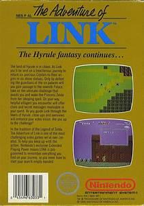 Zelda, Ii, The, Adventure, Of, Link, Box, Shot, For, Nes