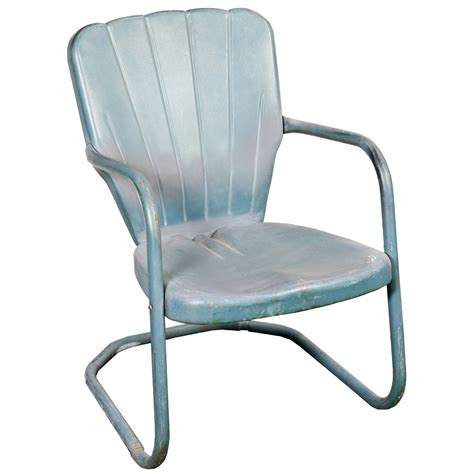 lawn chair shell back green air designs