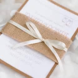 wedding invitations cheap cheap rustic burlap layered wedding invitations ewls050 as low as 2 19