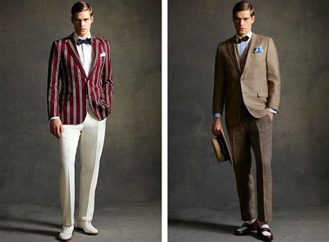 anzug 20er jahre 20er jahre mode gatsby inspirierte
