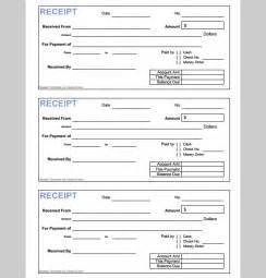 Money Receipt Template Format, Format of Money Receipt ...