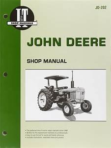 Heavy Equipment Manuals  U0026 Books Service Manual Set For John Deere 1520 Tractor Parts Owner Tech