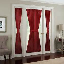 buy midtown side light 72 inch window panel in red from