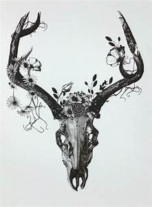 deer skull tattoos tumblr Google Search TATTOOS Pinterest Deer skull tattoos, Deer