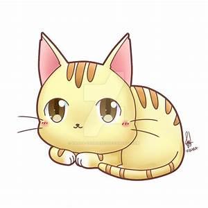 Commission - Chibi Cat by Kirara-CecilVenes on DeviantArt
