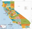 California County Map, California Counties List