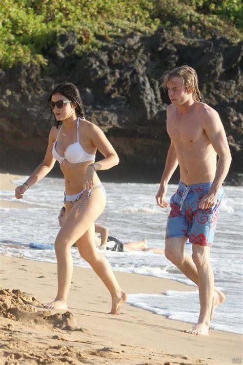Lucy Hale – Bikini Candids on the beach in Hawaii - 12thBlog