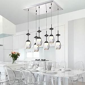 Lustre Pour Salle à Manger : lustre moderne pour salle a manger design en image ~ Teatrodelosmanantiales.com Idées de Décoration