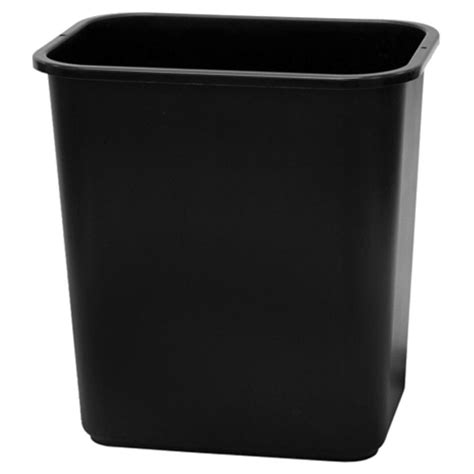 toter trash can lowes shop style selections 7 gallon black plastic touchless