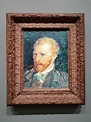 File:Self potrait by Vincent van Gogh in the Musée d'Orsay ...
