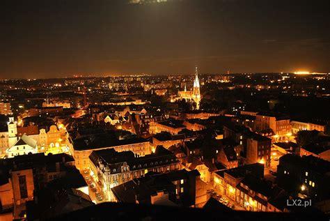 Gliwice Poland Silesia night