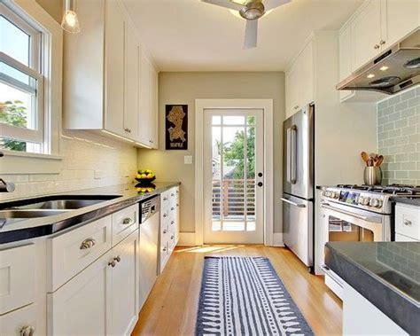 decorating ideas     galley kitchen  bigger narrow kitchen kitchen